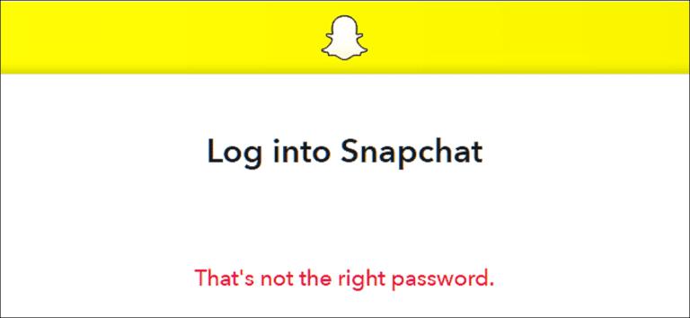 Cómo recuperar tu contraseña de Snapchat olvidada