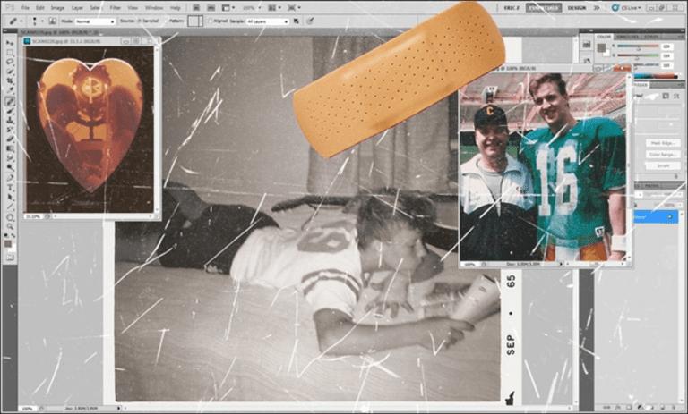 Cómo reparar fotografías o escaneos rayados y dañados