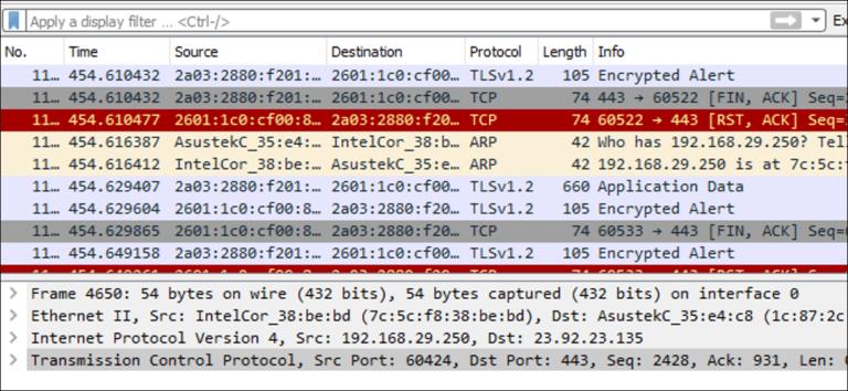 Cómo utilizar Wireshark para capturar, filtrar e inspeccionar paquetes
