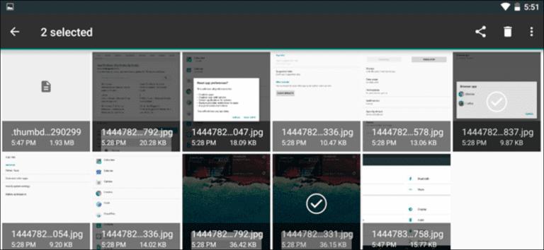 Cómo utilizar el administrador de archivos integrado de Android 6.0