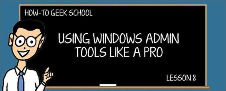 Comprender y administrar los servicios de Windows