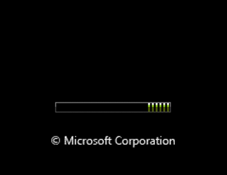 Habilitar la pantalla de presentación oculta en Windows Vista