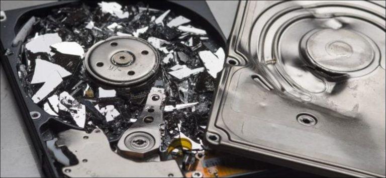 Qué hacer cuando su disco duro falla