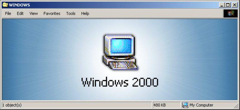 Recordando Windows 2000, la obra maestra olvidada de Microsoft