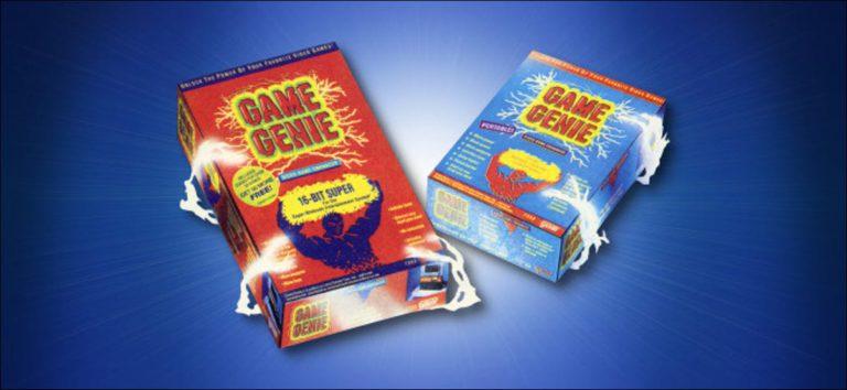 ¿Qué era el dispositivo de trampa «Game Genie» y cómo funcionaba?