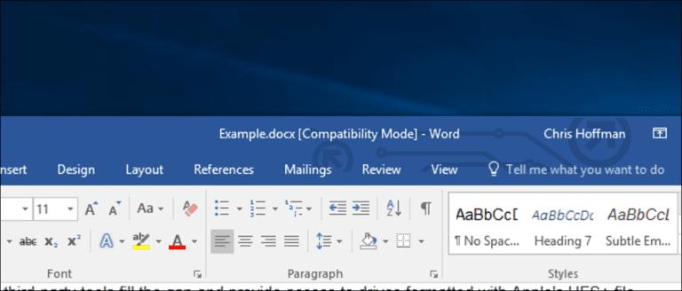 ¿Qué es el «modo de compatibilidad» en Microsoft Office?