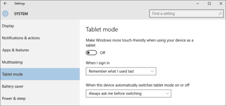 ¿Qué es el modo tableta en Windows 10 y cómo activarlo y desactivarlo?