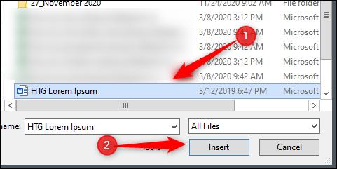 Seleccionar y abrir el archivo