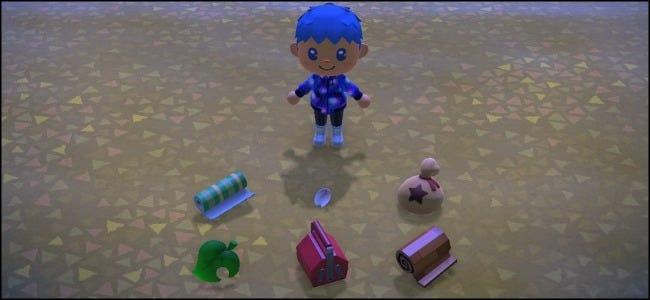 Objetos abandonados de Animal Crossing