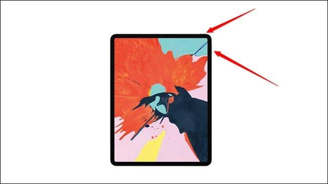 Botones de encendido y volumen Apple iPad Pro 2018 Nuevo