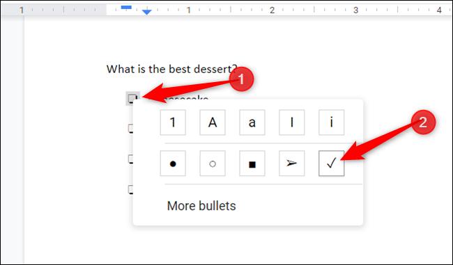 Seleccione el cuadro haciendo doble clic en él, haga clic con el botón derecho para abrir el menú contextual y haga clic en la marca de verificación.