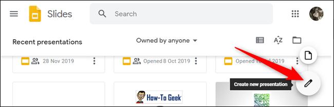 Abra un nuevo documento.