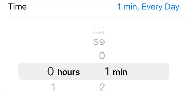 Establecer el límite de tiempo de pantalla de la aplicación en iOS