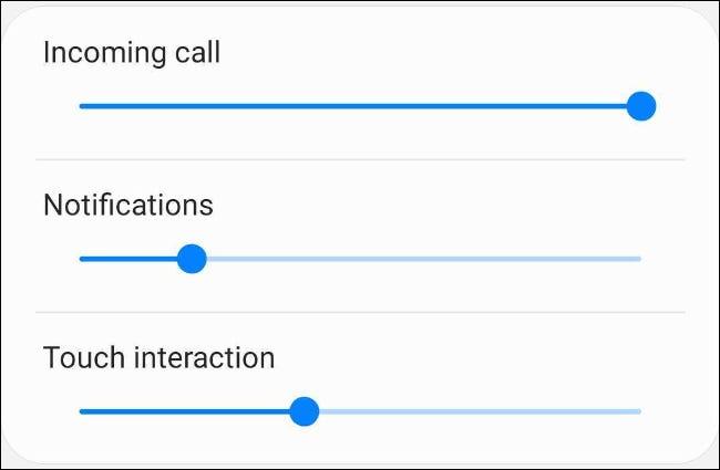 Ajustar la intensidad de la vibración en el teléfono Samsung Android