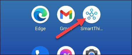 abre la aplicación smartthings