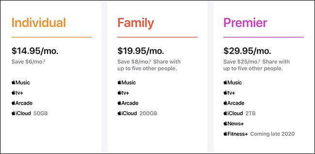 Planes de Apple a un precio