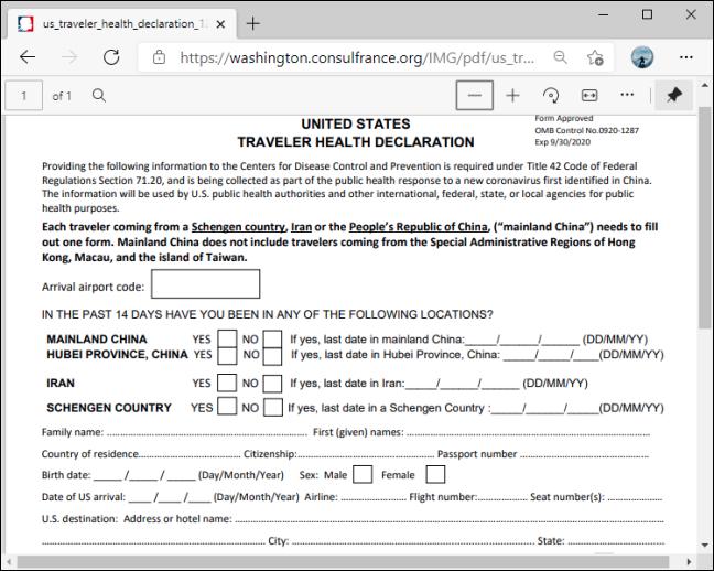 PDF sin soporte de edición en Microsoft Edge
