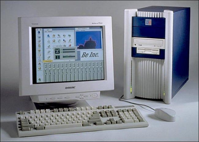 Una computadora de escritorio BeBox original.
