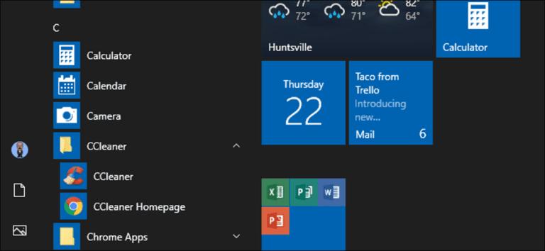 Cómo abrir la carpeta del menú Inicio en Windows 7 o 10