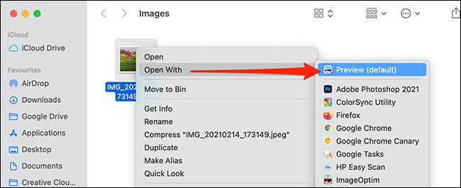 Haga clic con el botón derecho en una imagen y seleccione Abrir con><div class='code-block code-block-6' style='margin: 8px 0; clear: both;'> <script async src=
