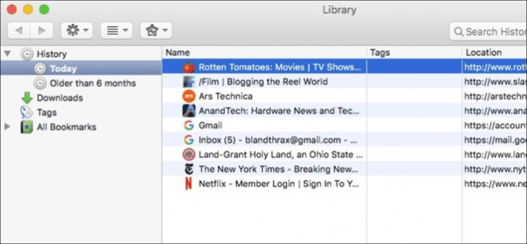 Cómo borrar su historial de navegación en Firefox