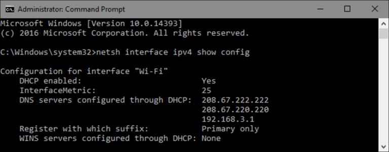 Cómo cambiar la dirección IP de su computadora desde el símbolo del sistema