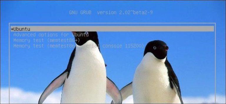 Cómo configurar los ajustes del cargador de arranque GRUB2