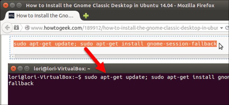 Cómo copiar y pegar texto en la terminal de Linux