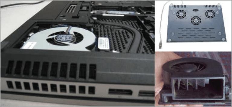 Cómo diagnosticar y reparar una computadora portátil que se sobrecalienta