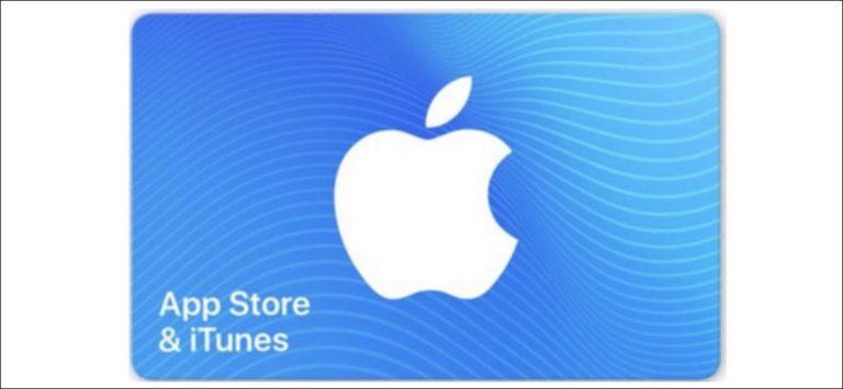 Cómo enviar una tarjeta de regalo de iTunes (o App Store) al instante