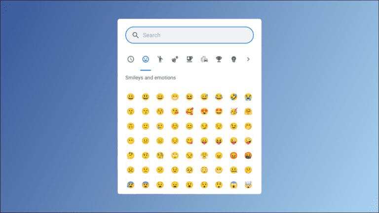 Cómo escribir emoji en una Chromebook