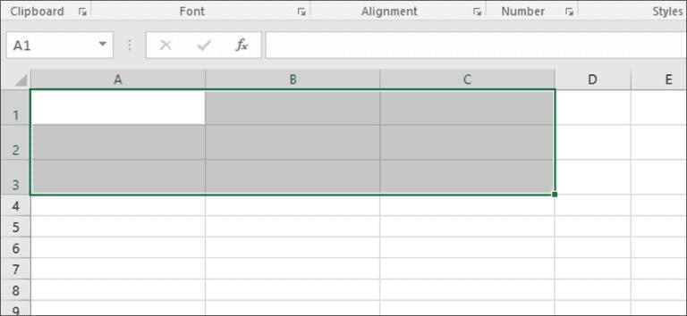 Cómo establecer la altura de la fila y el ancho de la columna en Excel