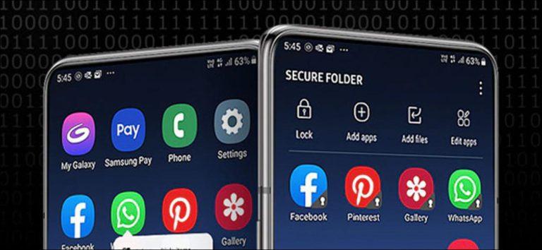 Cómo habilitar la carpeta segura en teléfonos Samsung