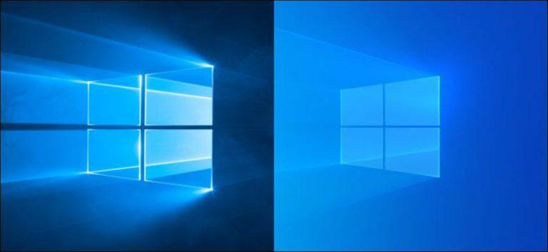 Cómo recuperar el antiguo fondo de escritorio predeterminado de Windows 10