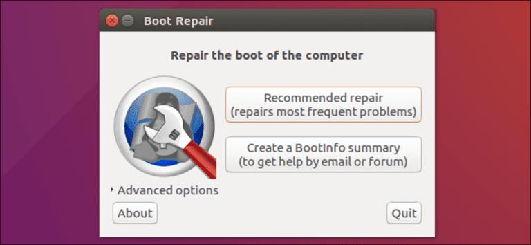 Cómo reparar GRUB2 cuando Ubuntu no se inicia