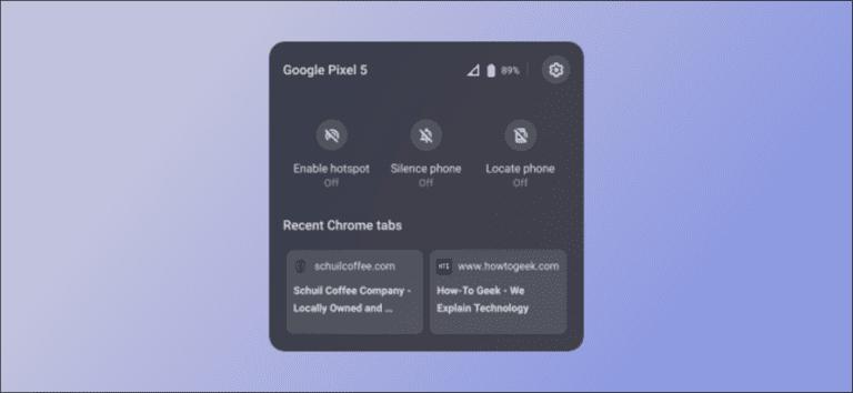Cómo usar Chrome OS Phone Hub con su teléfono Android
