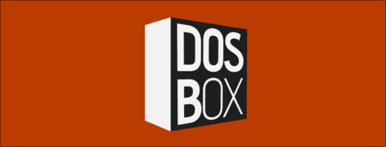 Cómo usar DOSBox para ejecutar juegos de DOS y aplicaciones antiguas