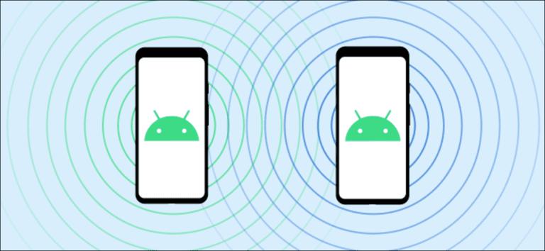 Cómo usar el uso compartido cercano de Android