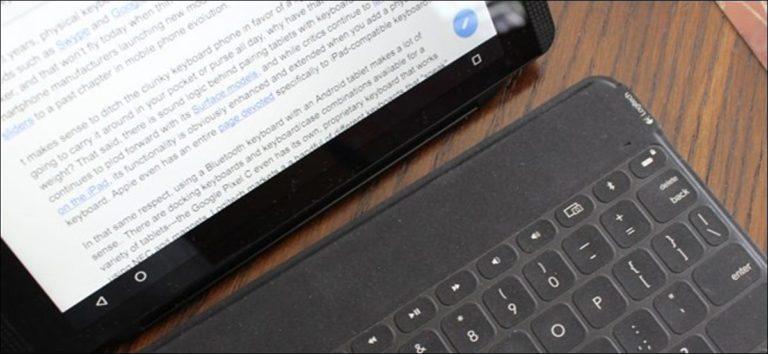 Cómo usar un teclado Bluetooth con su dispositivo Android