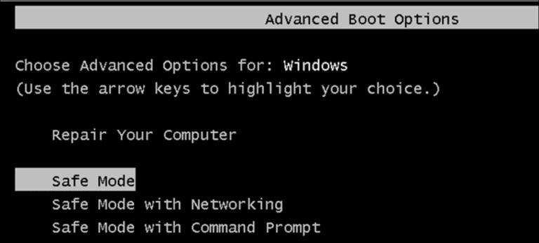 Obligar a Windows 7, 8 o 10 a iniciarse en modo seguro sin usar la tecla F8