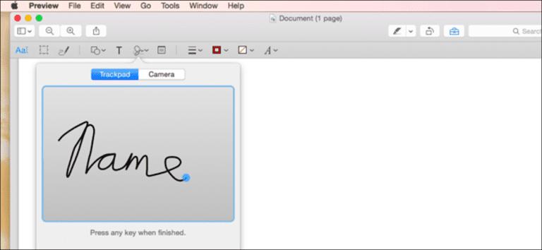 Utilice la aplicación de vista previa de su Mac para fusionar, dividir, etiquetar y firmar archivos PDF
